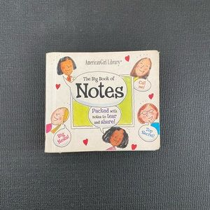 American Girl Library The Big Book of Notes Book